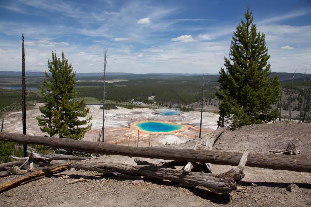 Midway Geyser Basin - Yellowstone NP - Wyoming
