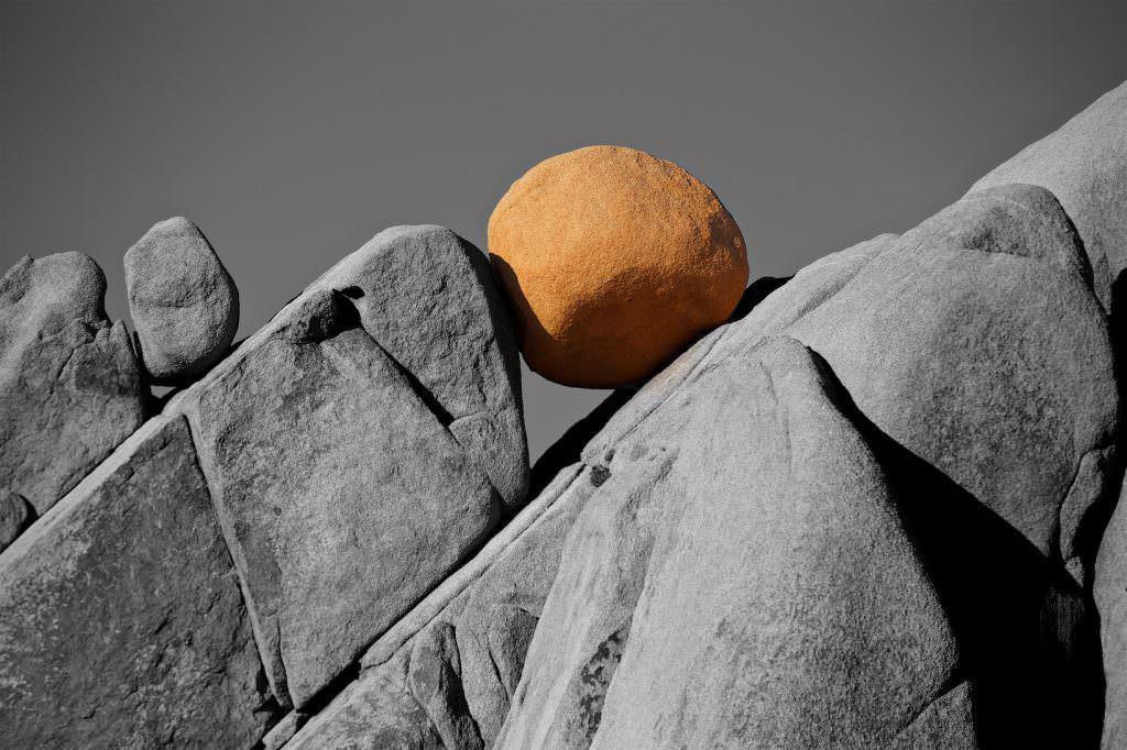 Joshua Tree Nationalpark, Jumbo Rock, Kalifornien
