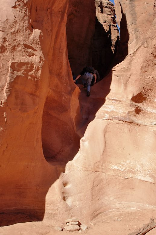 Peek a boo Slot Canyon