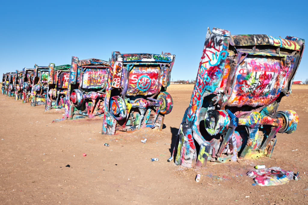 Cadillac Ranch - Texas