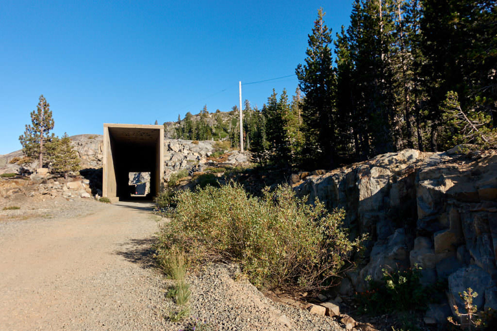 Donner Pass Railroad Tunnel
